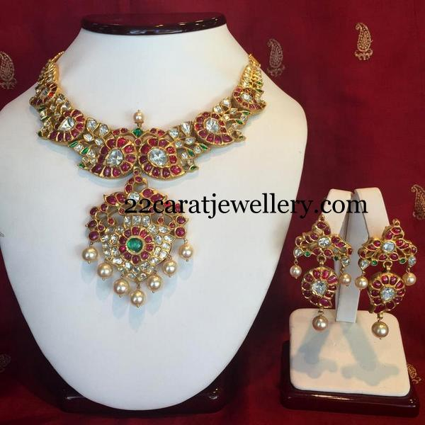 Exclusive Temple Necklace by Shree Jewellers