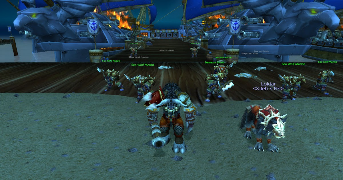 Theramore wow mop mining