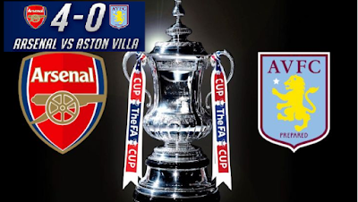 Arsenal Vs Aston Villa Final Piala FA 2015