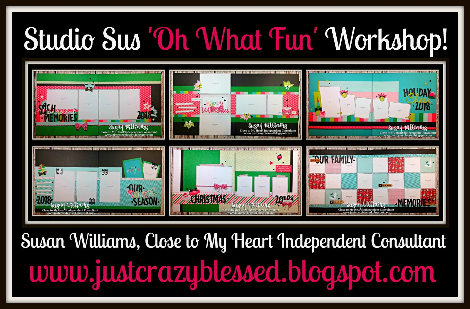 'Oh What Fun' Scrapbooking Workshop!