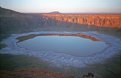 Wahba Crater a Natural Wonder in Saudi Arabia Latest Photos 2012