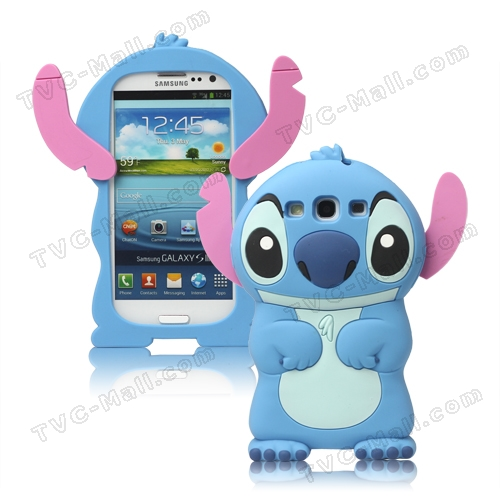 ... Galaxy S3 cases also meet the cute 3D Stitch : Gadgets and Accessories