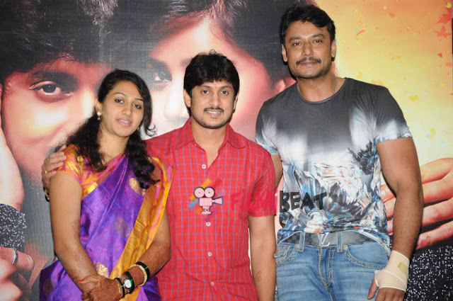 Ajay Rao family with Darshan