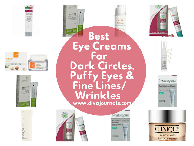 Best Eye Creams for Dark circles & Fine lines