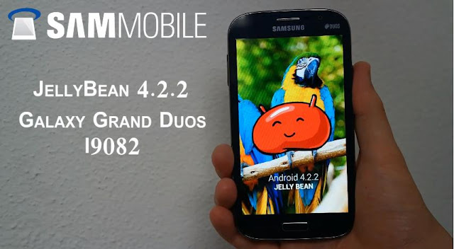Samsung Galaxy Grand Duos Android 4.2.2 Update