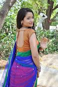 Santoshi sharma half saree pics-thumbnail-13