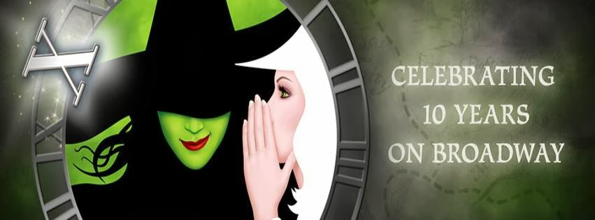 October 2013 marks WICKED's 10th Anniversary on Broadway!