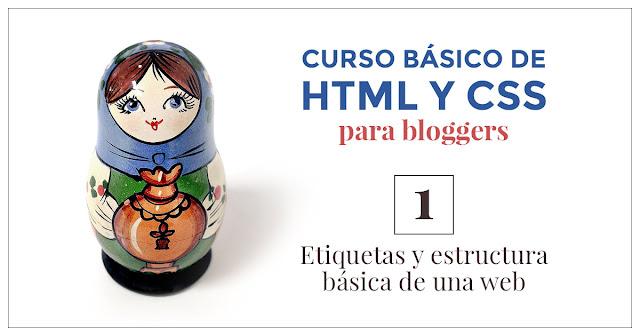 Curso HTML CSS blogger