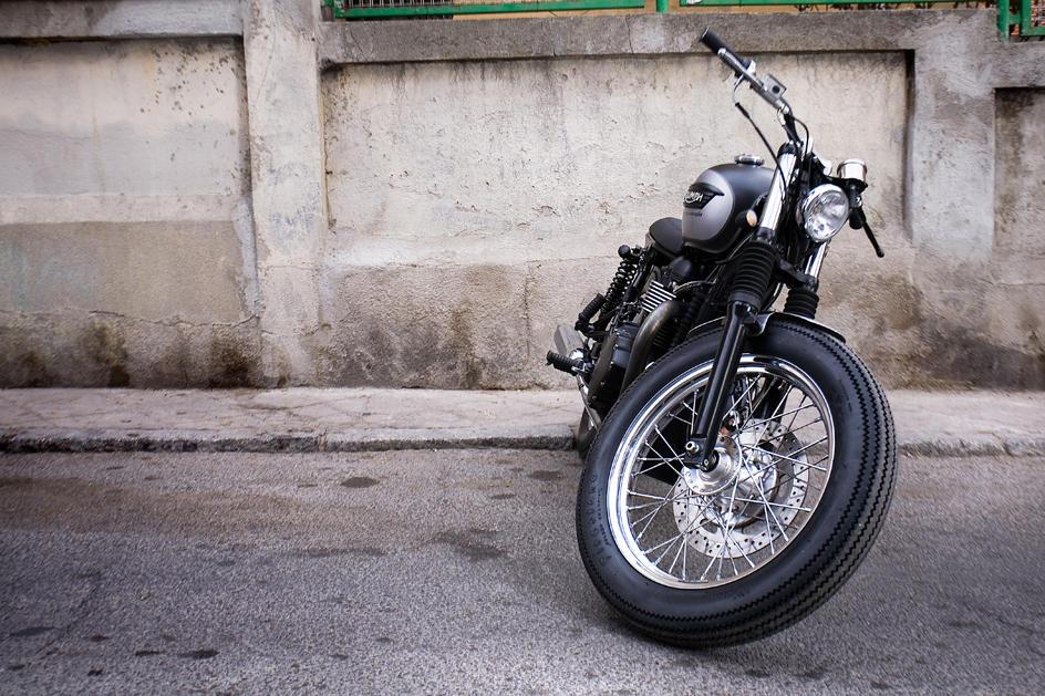 Milchapitas Kustom Bikes     Triumph Bonneville By CRD