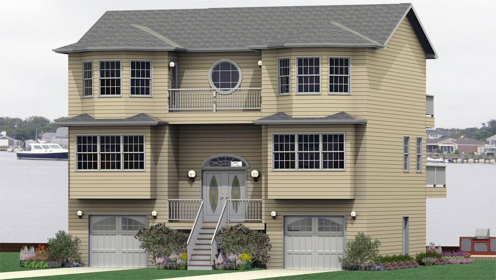 N Home Elevation Jersey : Southview homes website photo library the beach haven