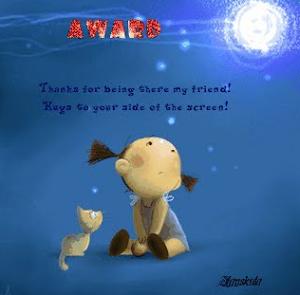 Ystävät- tunnus blogilta Arkea, juhlaa ja unelmia
