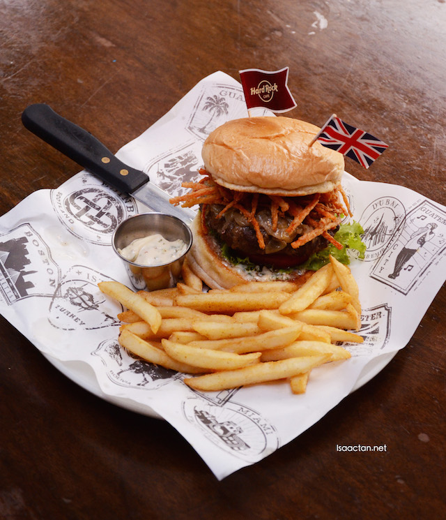 Lancashire Hot Pot Burger - Manchester UK - RM56