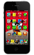 Angry Birds HD theme for iPhone 4 Version 3