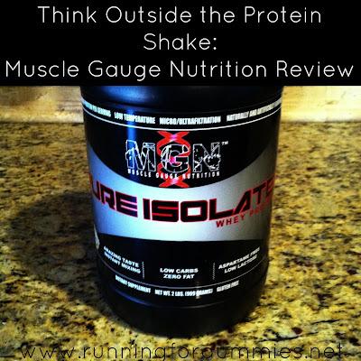 Muscle Gauge Nutrition Cake Batter
