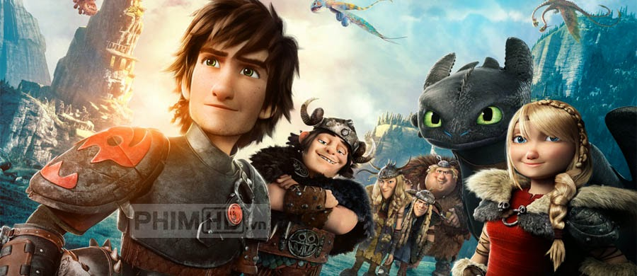 Bí Kíp Luyện Rồng 2 - How to Train Your Dragon 2 - 2014