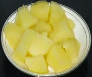 boiled potatoes to make alsande randayi