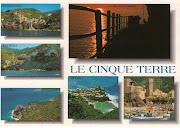 Cinque Terre postcard (cinque terre postcard)