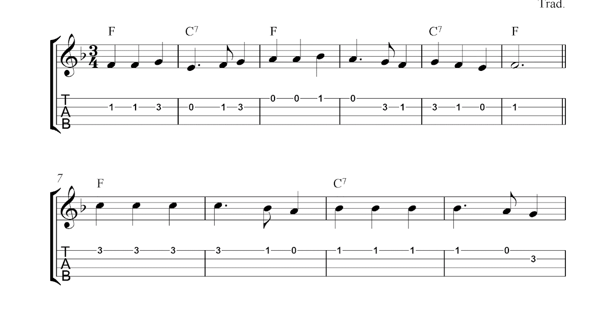 God Save The Queen (America), free ukulele tab sheet music
