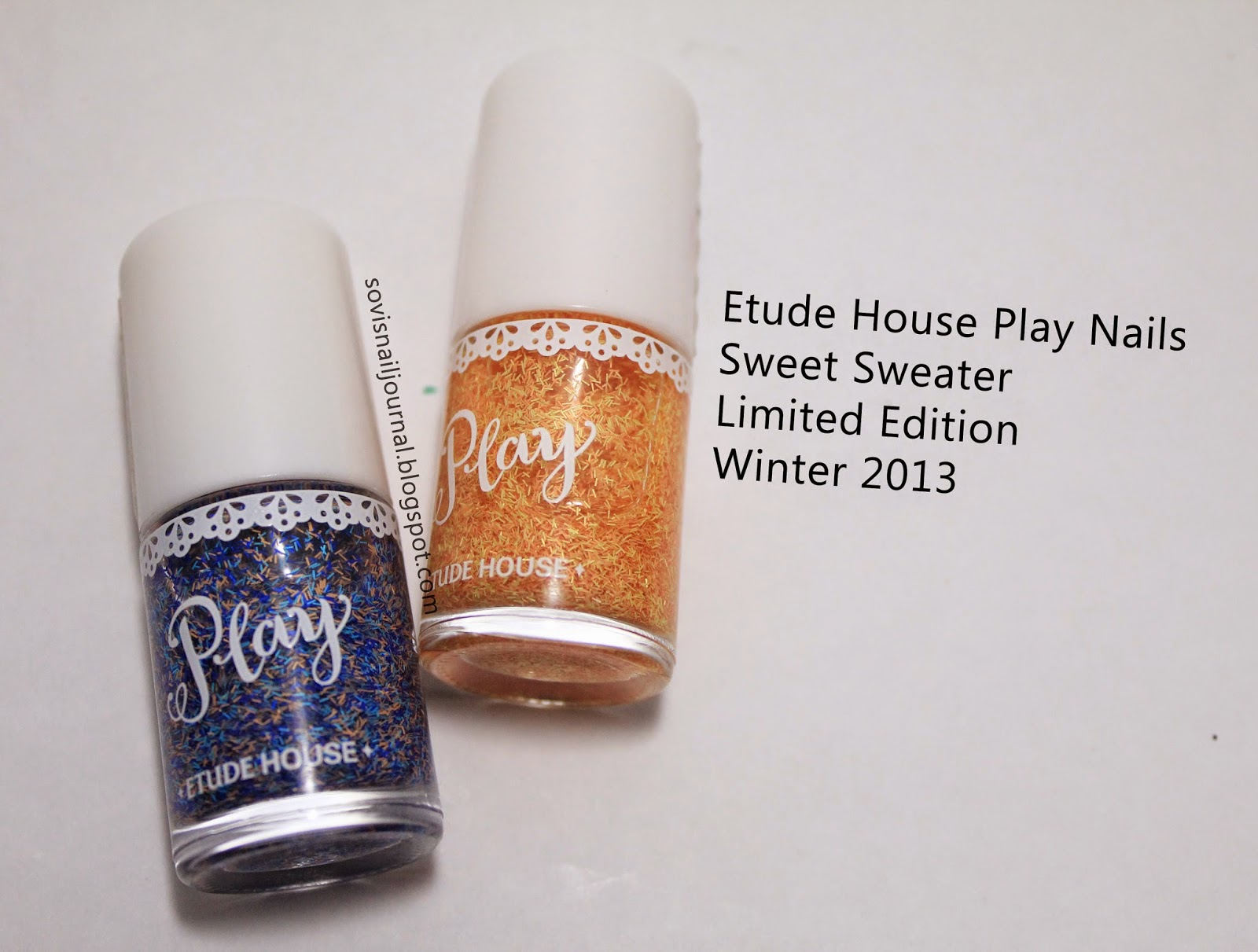Sovi\'s Nail Journal: Etude House Play Nails Sweet Sweater Limited ...