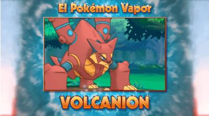 Trailer oficial del legendario Pokémon Volcanion