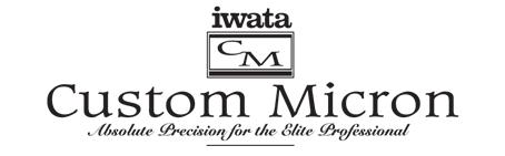 logo iwata custom micron.