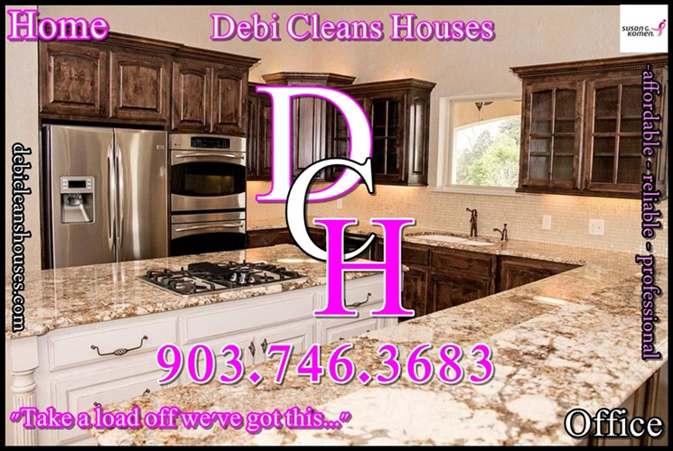 DCH House Cleaning Longview Tx Maid Service Kilgore Tx Hallsville TX House Cleaning Service