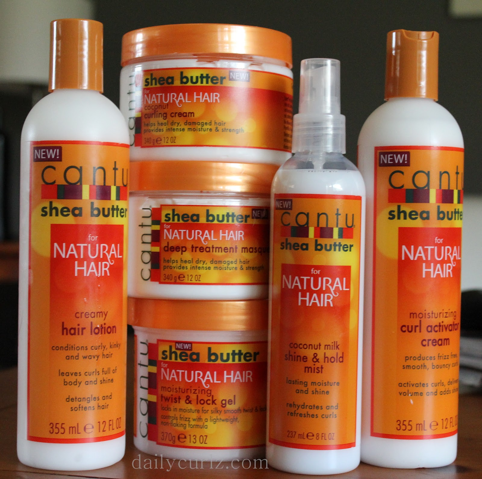 Cantu Shea Butter Introduces NEW Naturals Collection. Win