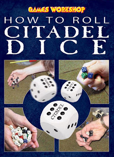 dice rolling instruction book