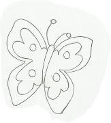 Desenho de borboleta para pintar. Desenho de borboleta para pintar.