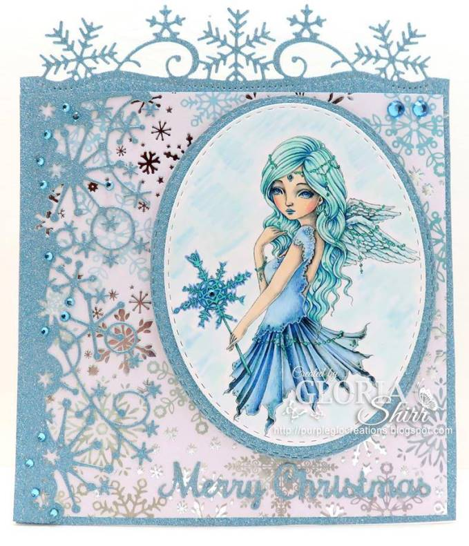 Featured Card at Morgan's Art World Challenge Blog