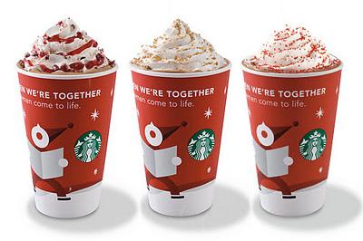 Nice Drinks From Starbucks
