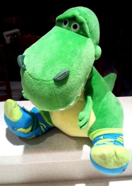 toy story rex h&m socks