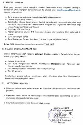 Lowongan kerja resmi kedutaan besar republik indonesia