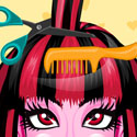 Monster High Hair Salon Spa App iTunes App Icon Logo By Christian Weber - FreeApps.ws