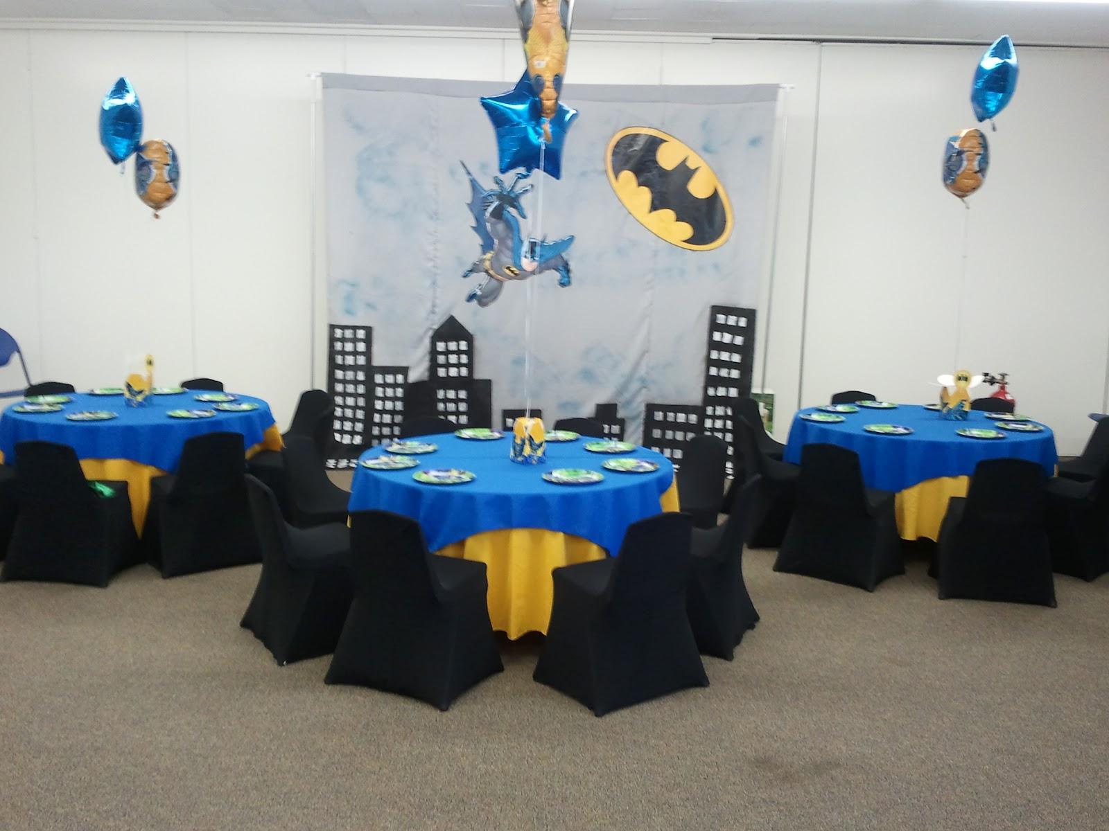 Batman Boy Birthday Party Ideas