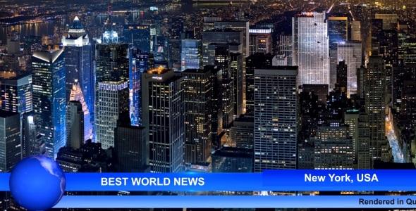 VideoHive Best World News