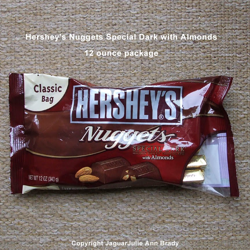 hersheys nuggets special dark chocolate with almonds package