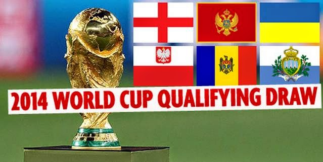 FIFA World Cup 2014 qualification fixtures & Upcoming matches