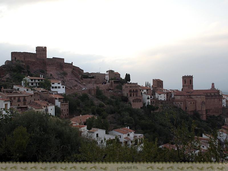 Vilafamés desde el Camí a la Serra