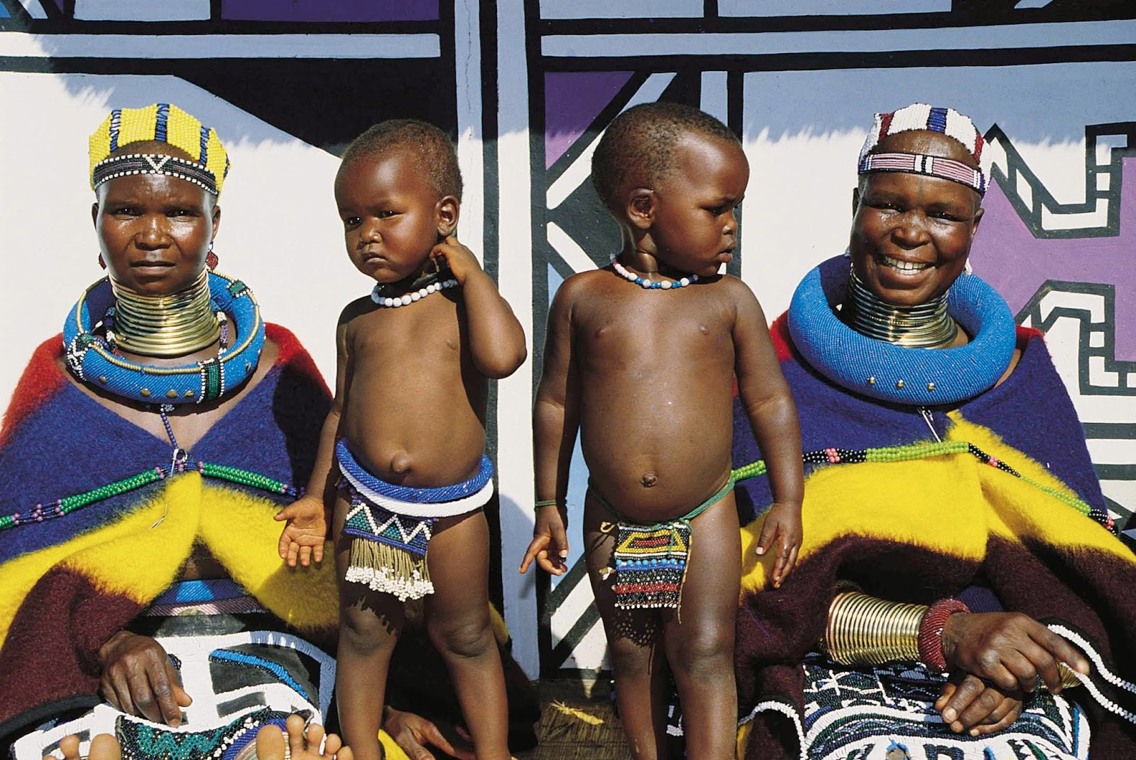 Local Fashion Traditional Dress And Adornments Of Ndebele