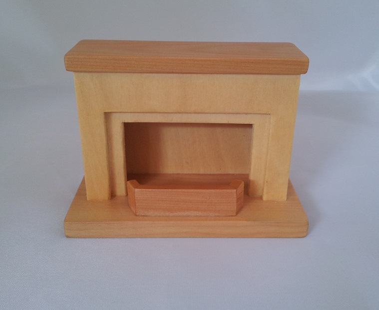how to build a dollhouse fireplace