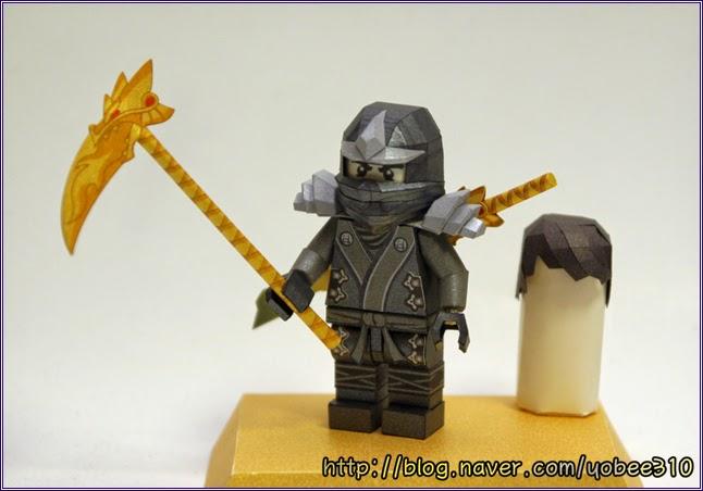 Lego Ninjago Cole Papercraft