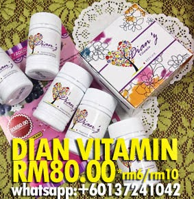 DIAN VITAMIN C&E + WHITENING COLLAGEN