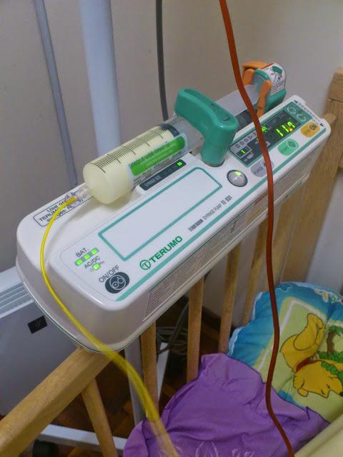 Terumo Syringe Pump for Lipid