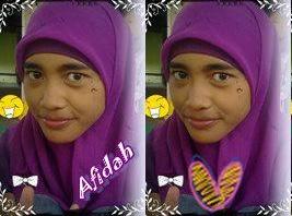 Afidah Nisa :)