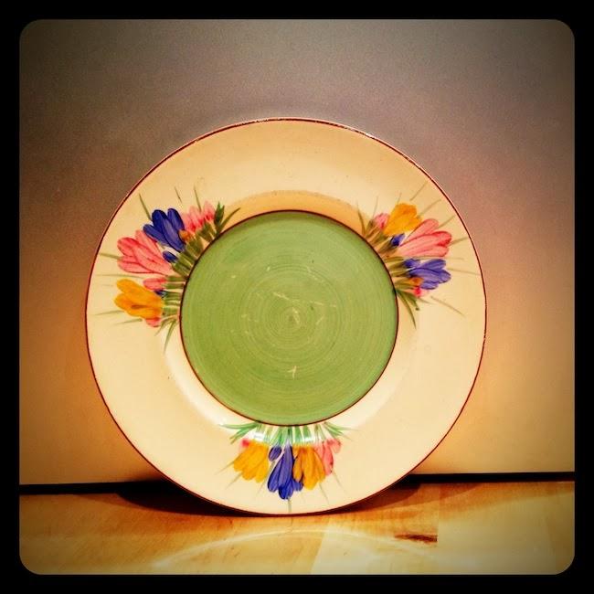 Clarice Cliff Spring Crocus plate