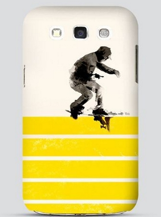 Slide on stripes Samsung S3 Case - For him who carries one!