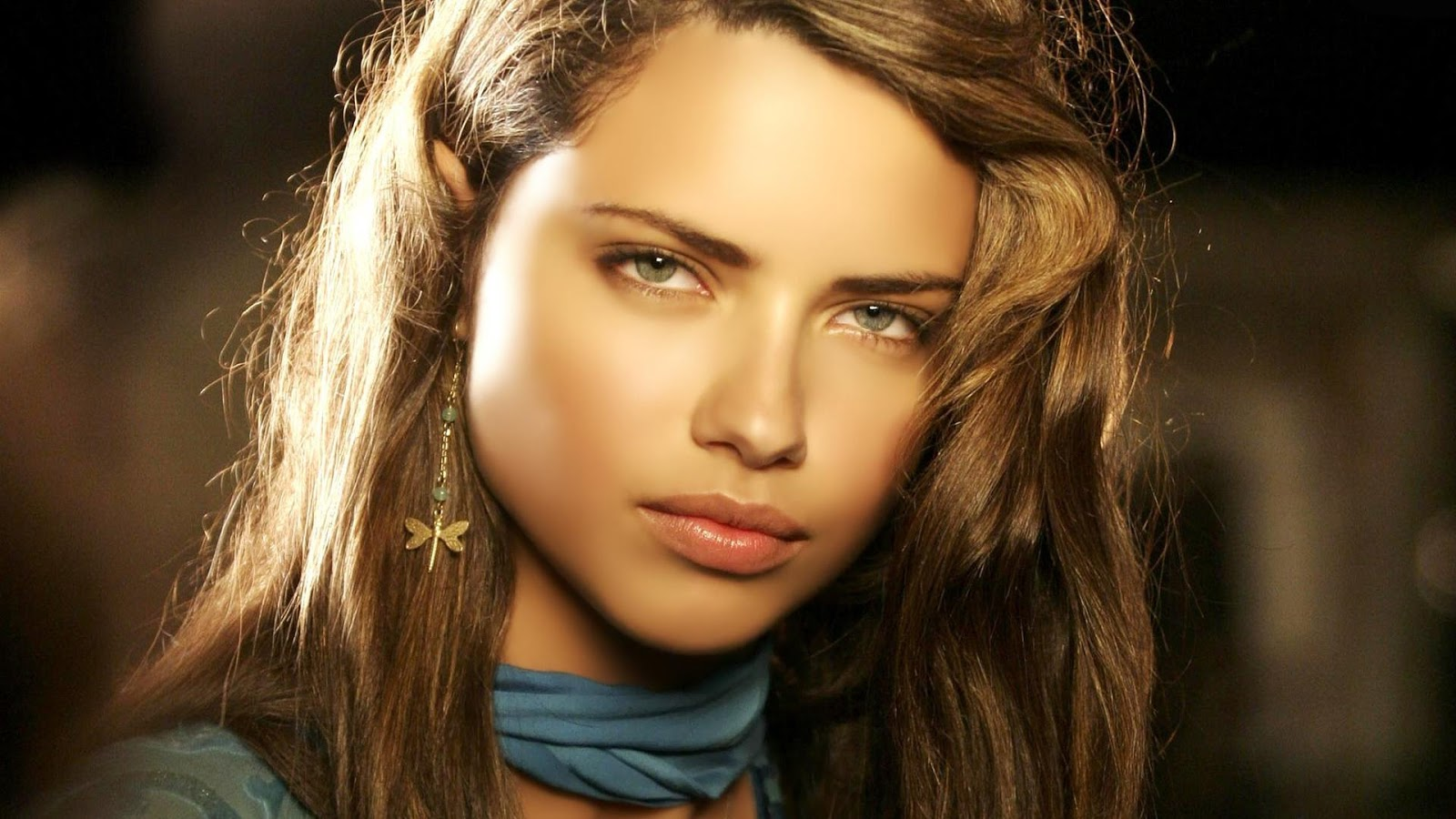 Adriana Lima young Face