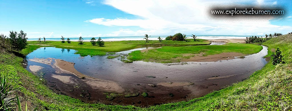 Laguna Pantai Bopong Puring Kebumen