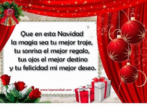 Lindas frases amorosas de navidad y año nuevo